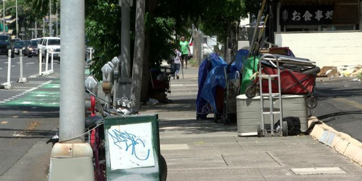 In wake of park closures, homeless encampments pop up on nearby streets