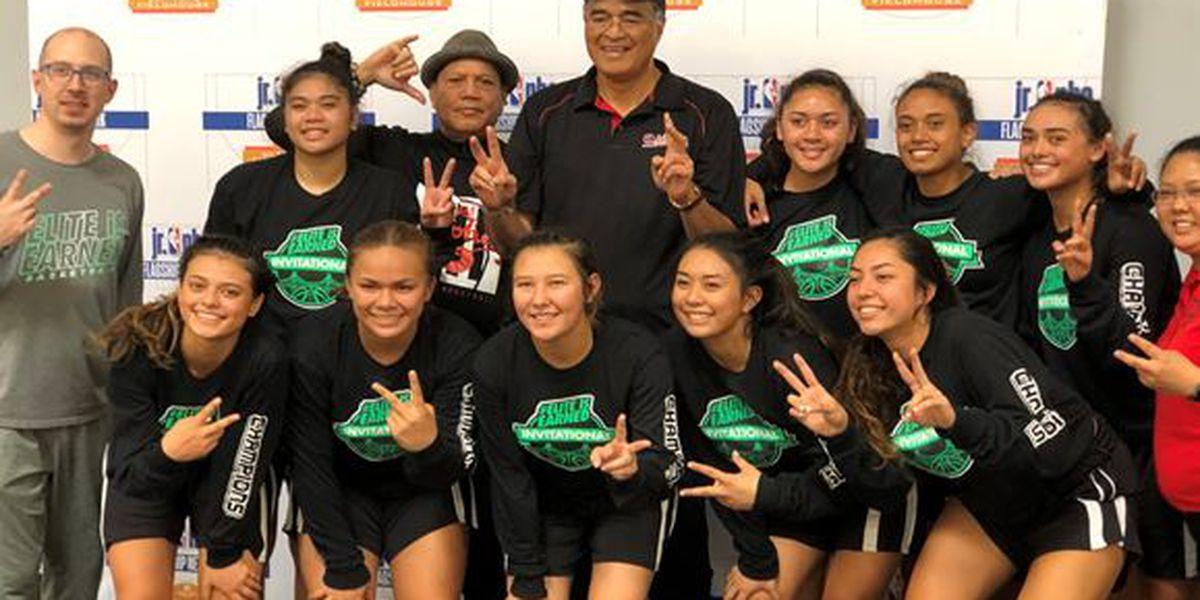 Team Aloha wins Elite Hoops Tournament in California