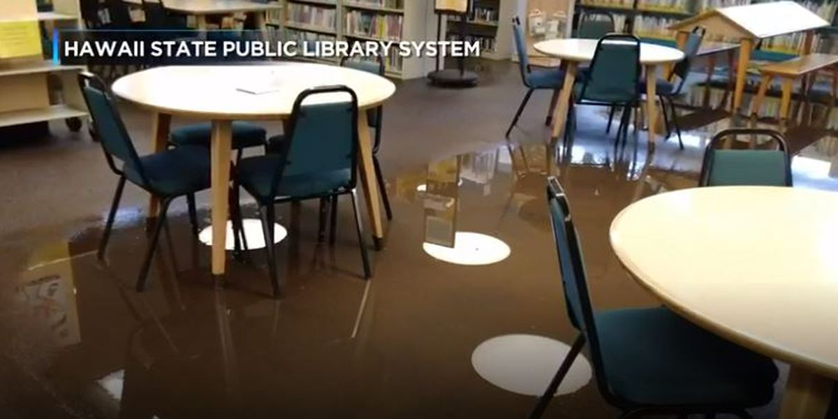 One year after major flood, repairs to Aina Haina Library finally complete