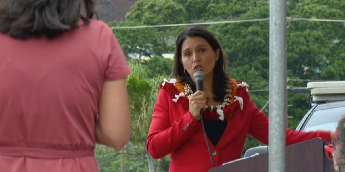 At town hall, frustrated voters pepper Gabbard with tough questions