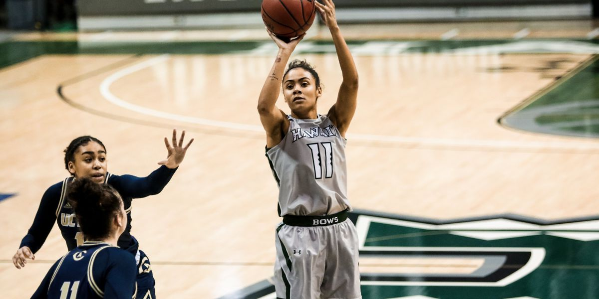 Wahine basketball finish 2021 season with home-split against UC Davis