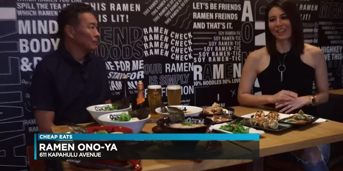 Cheap Eats: Ramen Ono-Ya