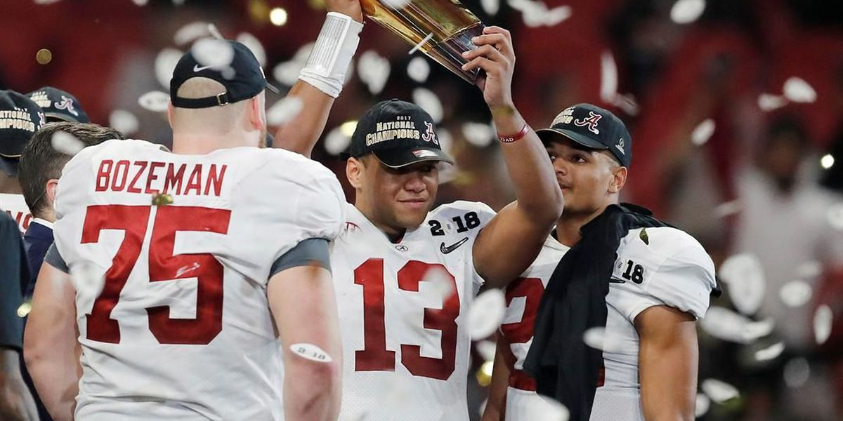 Comeback for the ages! Tagovailoa leads Alabama to national championship