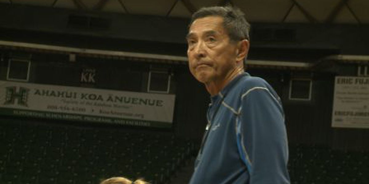 Aloha ball for coach Shoji? Players say this may be his last year