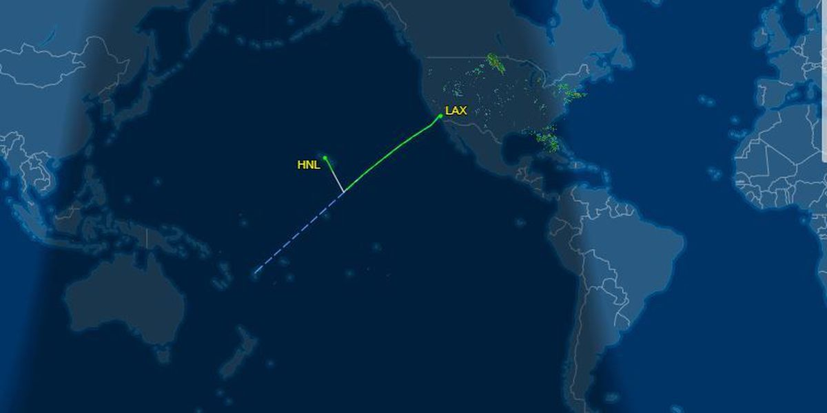 Mid-flight fight forces Fiji bound plane to divert to HNL