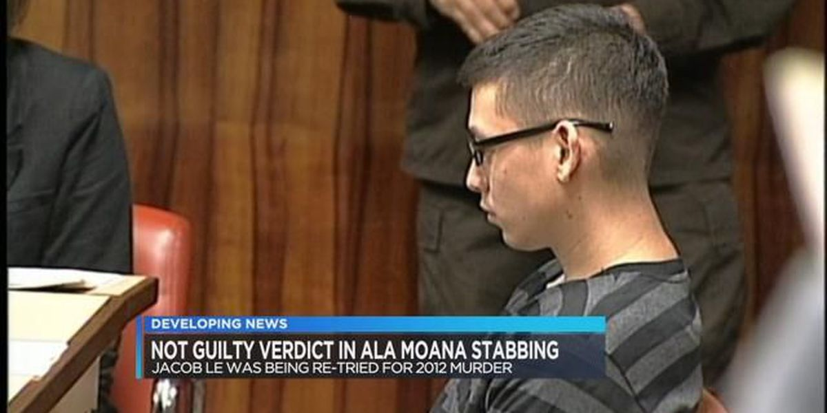 State jury finds Jacob Le not guilty in fatal 2012 stabbing