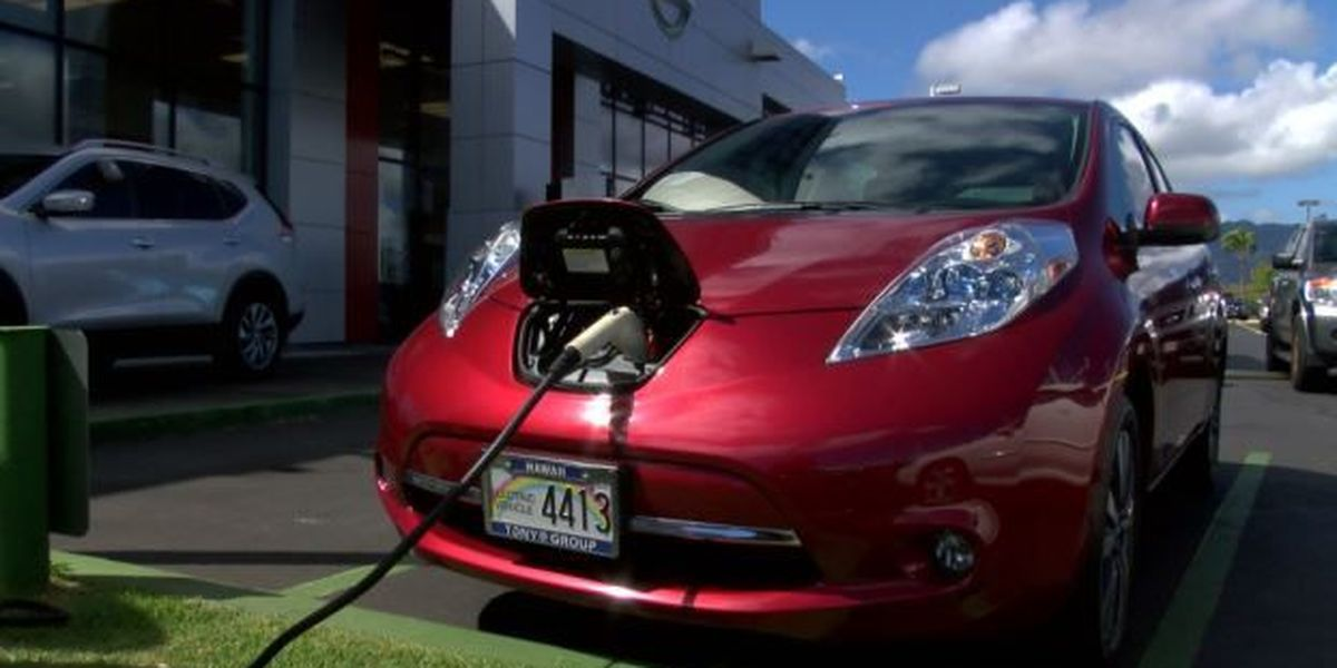 Initiatives offered for businesses who install EV charging stations