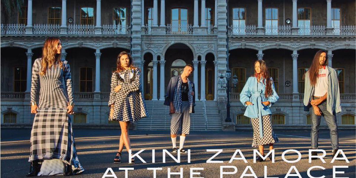 'Project Runway' star Kini Zamora to showcase designs at Iolani Palace fashion show