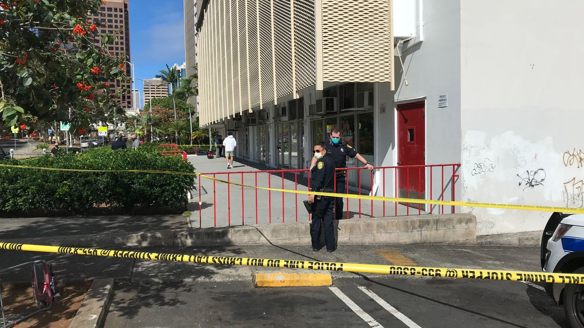 In horrific attack, suspect intentionally sets homeless man on fire in Downtown Honolulu