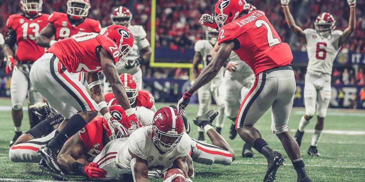 Alabama defeats Georgia in SEC title game, 35-28; Tagovailoa exits game injured