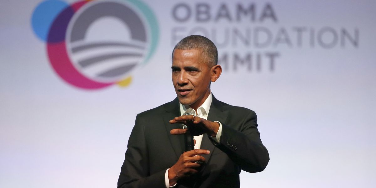 Former President Obama speaks at UH Manoa for launch of foundation's Asia-Pacific leadership program