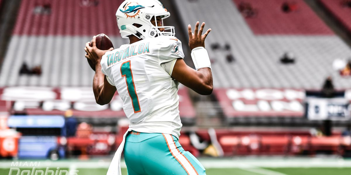 Tua Tagovailoa improves to 2-0 as Dolphins starter, defeating the Cardinals in the desert