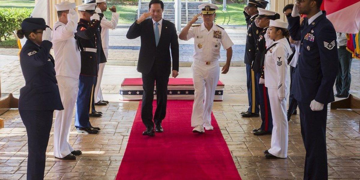 American, South Korean military leaders meet in Honolulu to discuss North Korean missile threat