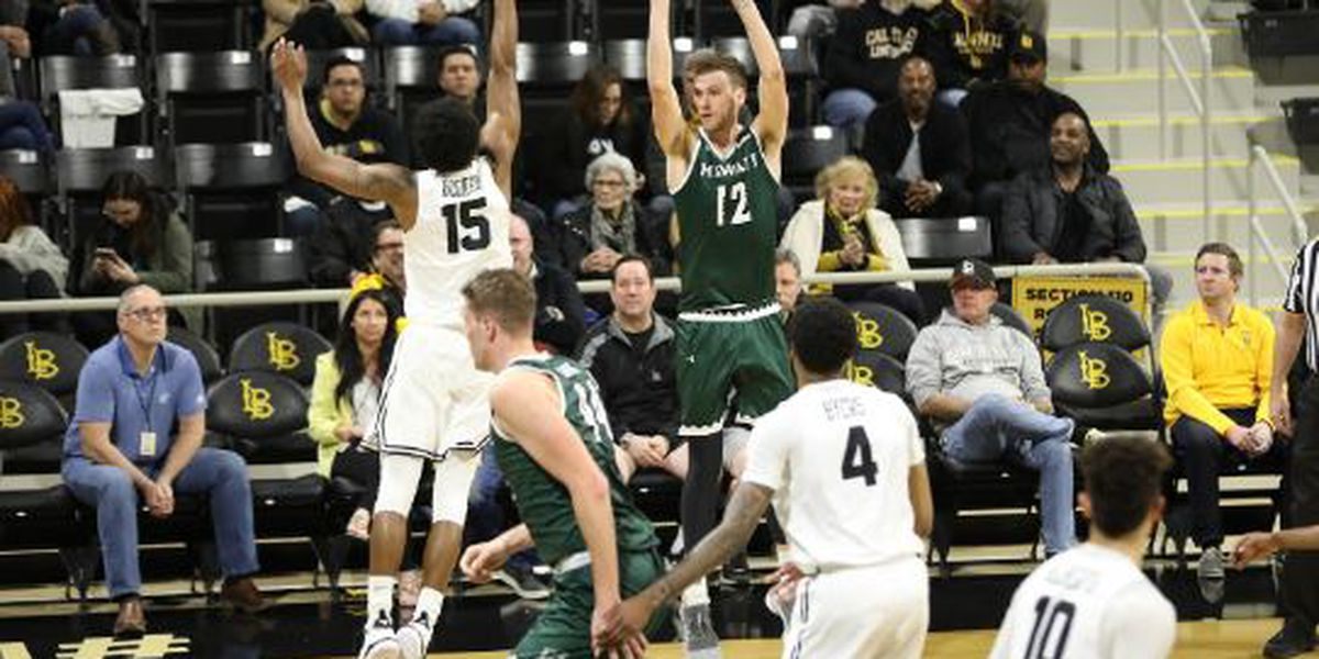Hawaii puts on offensive clinic in win over Long Beach State, 77-70