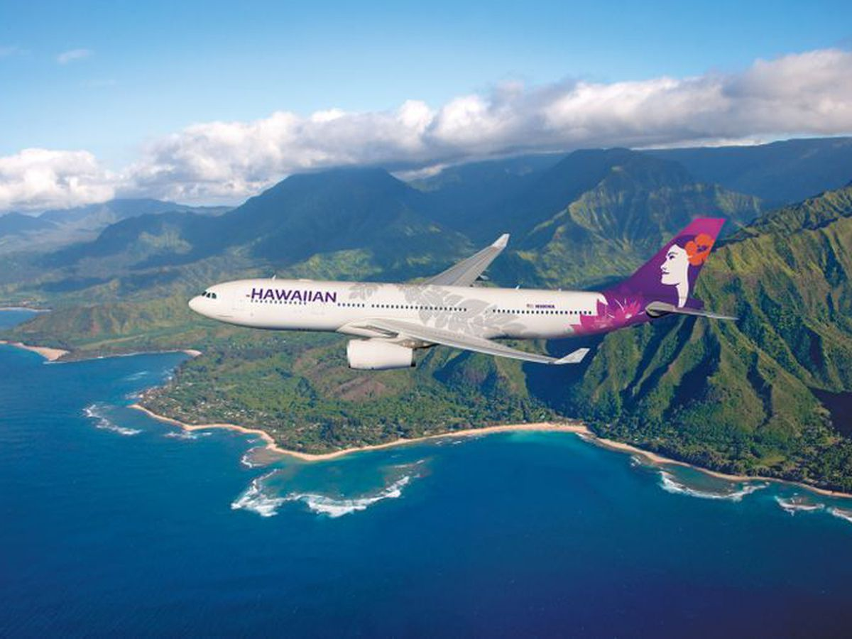 Lihue-bound Hawaiian Airlines flight canceled after plane hits tow truck at LAX