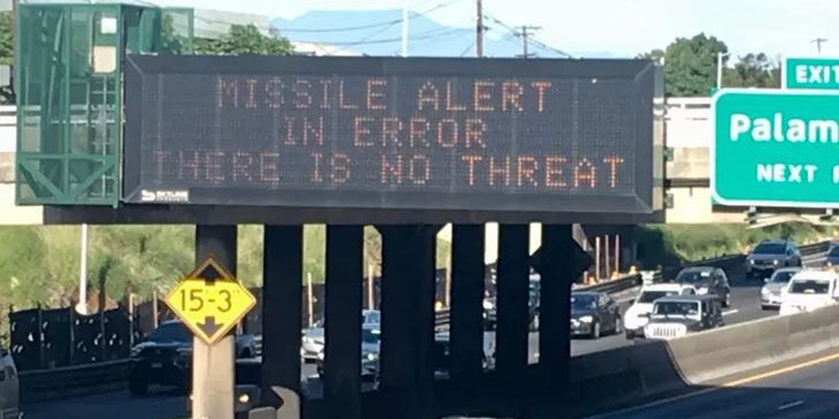 'Horrendous mistake': As investigation into false missile alert begins, state asks for patience