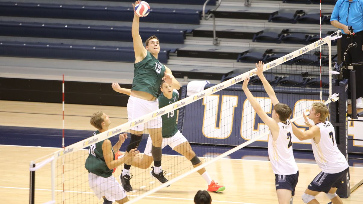 Rainbow Warriors volleyball ranked No.1 in the Nation for first time since 2020
