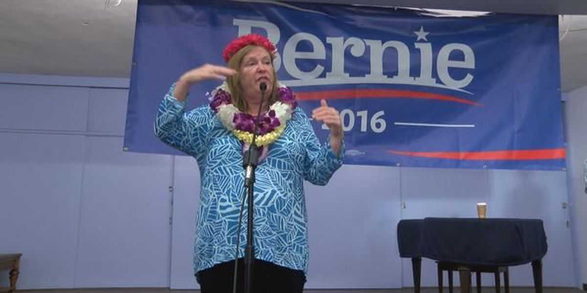 Bernie Sanders' wife continues Hawaii tour with stop on Maui