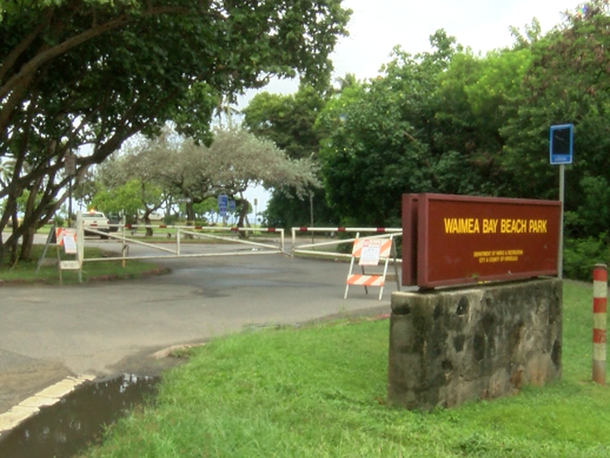 Honolulu police issued more than 200 citations on first day of park closures