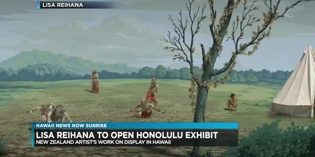 New Zealand artist to open exhibit at the Honolulu Museum of Art
