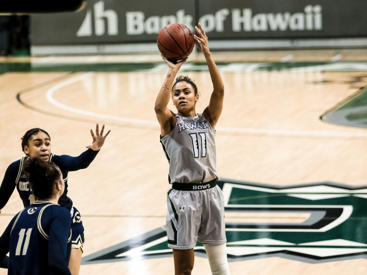 Wahine basketball finish 2021 season with home-split against UC Davis