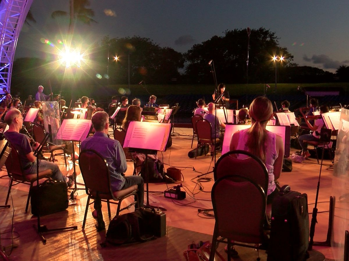 Hawaii Strong: Hawaii Symphony Orchestra returns to stage for first time in a year