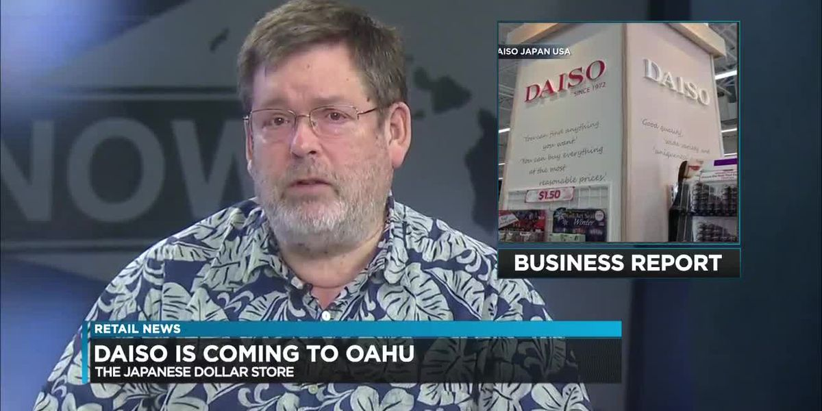 Business Report: DFS looks to Hawaii goods and Daiso is coming to Hawaii