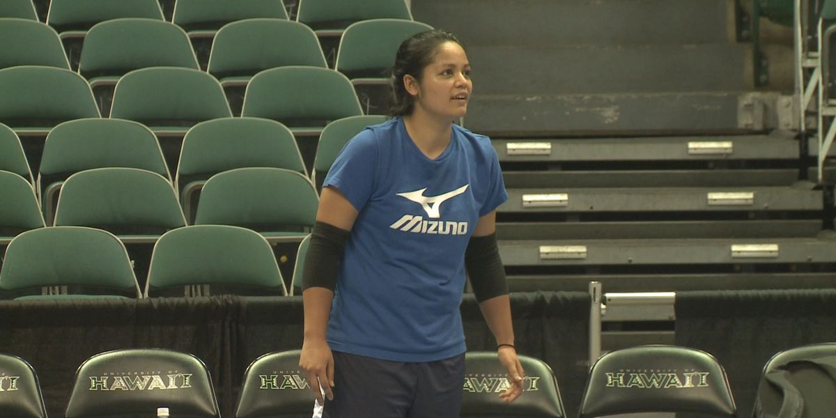 Top-ranked USA women's national volleyball team in Honolulu
