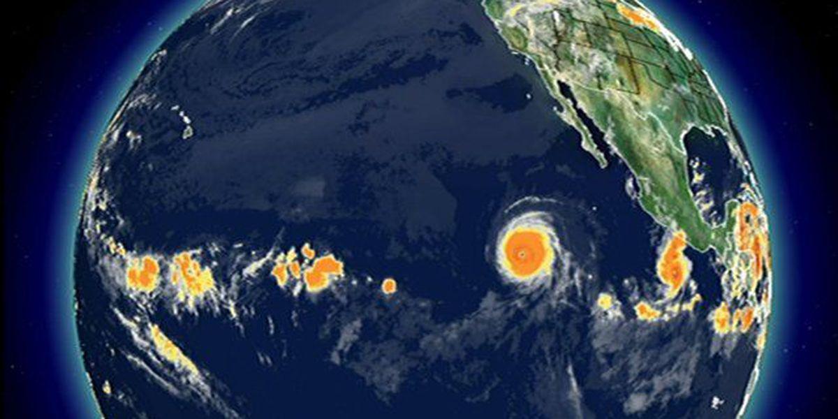 Celia weakens to a tropical storm