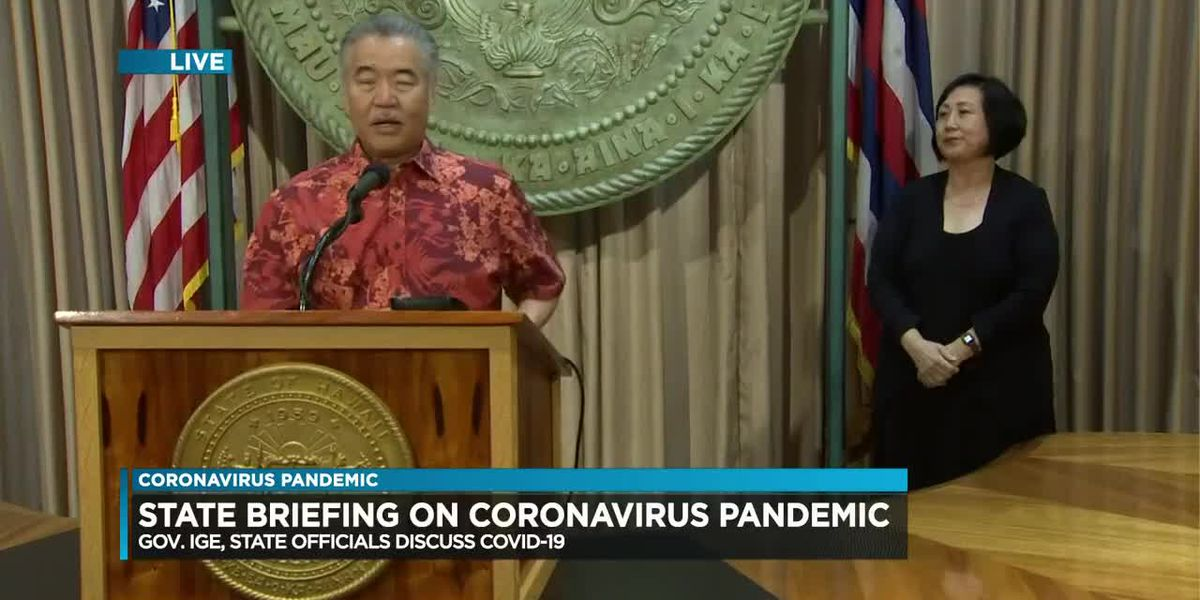 Ige delays plan to reopen tourism until Sept. 1 amid surge in COVID-19 infections on the mainland
