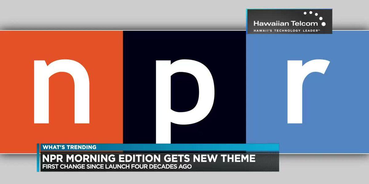 What's Trending: NPR theme song, monster trucks, Harry baby arrival