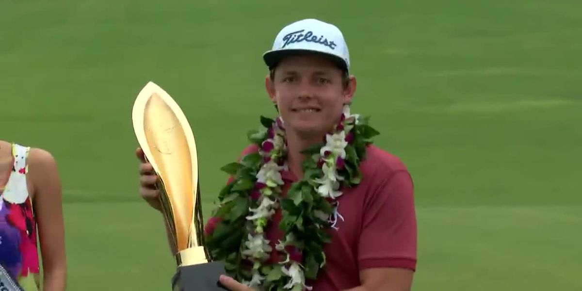 Australia's Cameron Smith comes from behind to win Sony Open