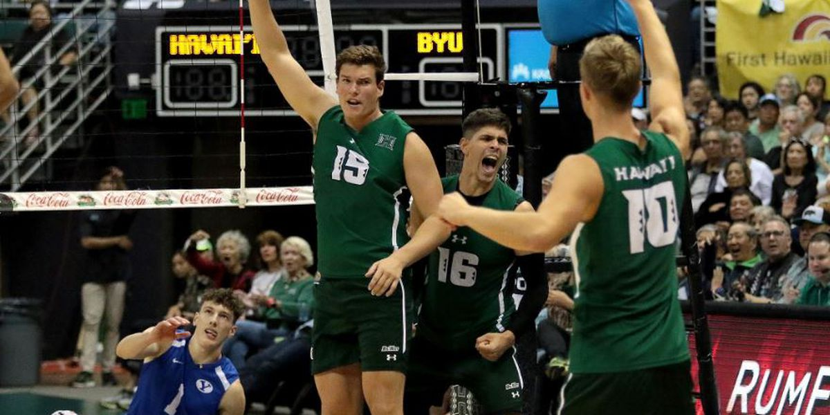 UH rallies for reverse sweep win over BYU