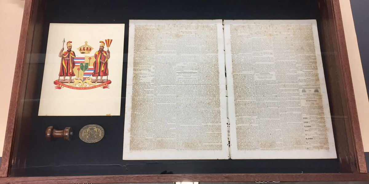 Here's your chance to view rare documents from the Hawaiian Kingdom