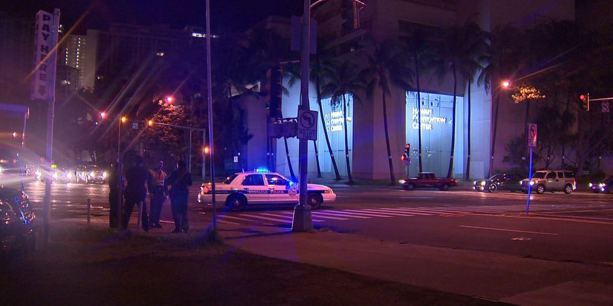 Male pedestrian, 25, seriously injured in hit-and-run crash near Convention Center