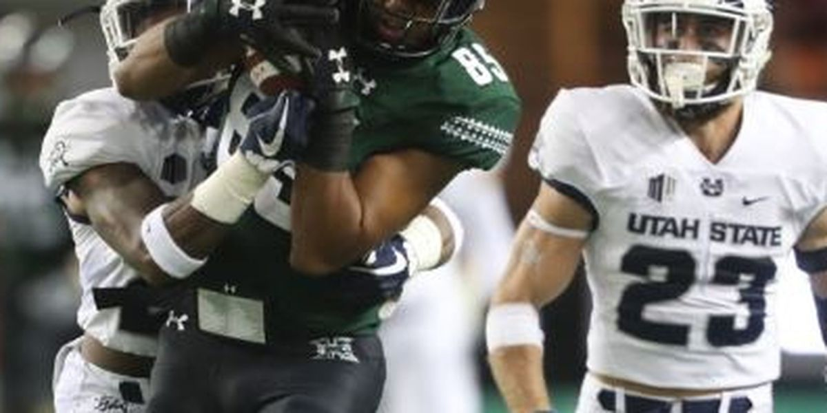 Hawaii drops 4th-straight in 56-17 loss to Utah State