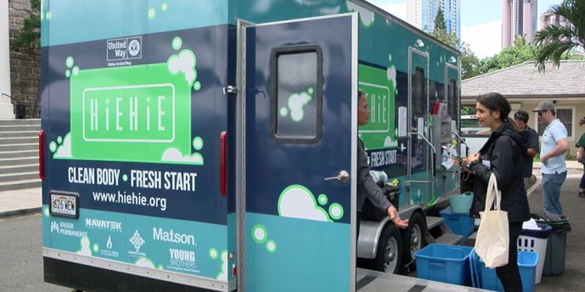 A year in, mobile hygiene center demonstrates the incredible power of a shower