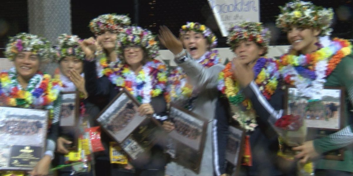Rainbow Wahine extend historic winning streak on senior night