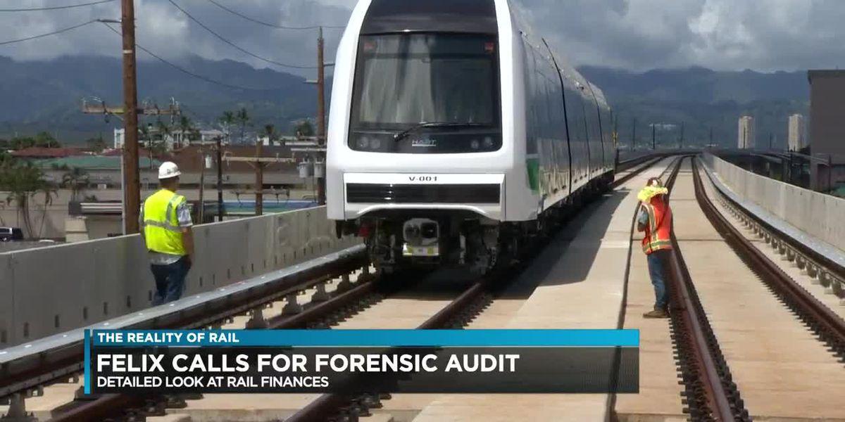 John Henry Felix talks about a forensic audit on rail