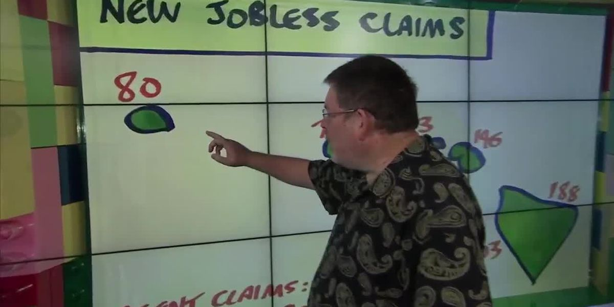 Business Report: New jobless claims reported statewide