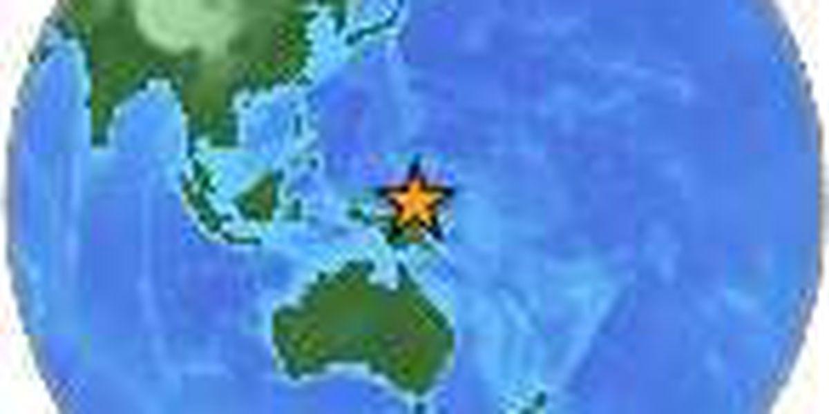 No tsunami threat following 6.6 magnitude earthquake near Micronesia