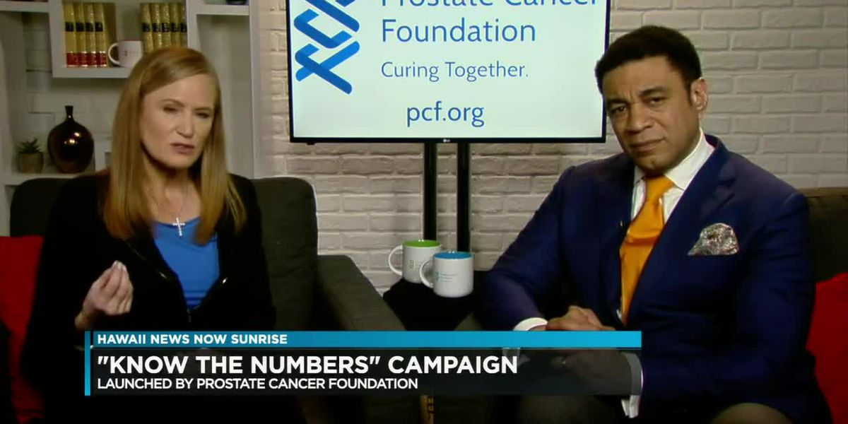"""Prostate Cancer Foundation launches """"Know the Numbers"""" campaign"""