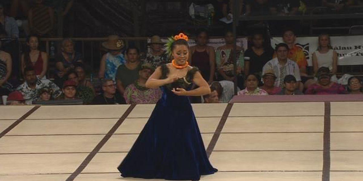 2018 Miss Aloha Hula – 'Auana: Shalia Kapuau'ionalani Kikuyo Kamakaokalani