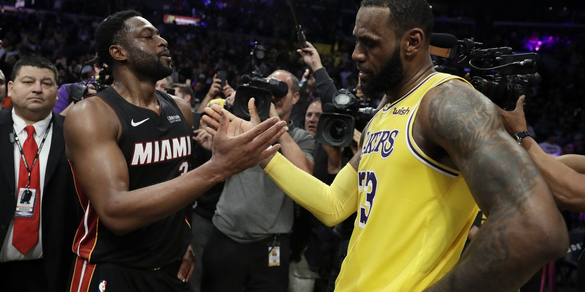 Lakers' LeBron James Clarifies 'Garden' Comments Made To Dwyane Wade