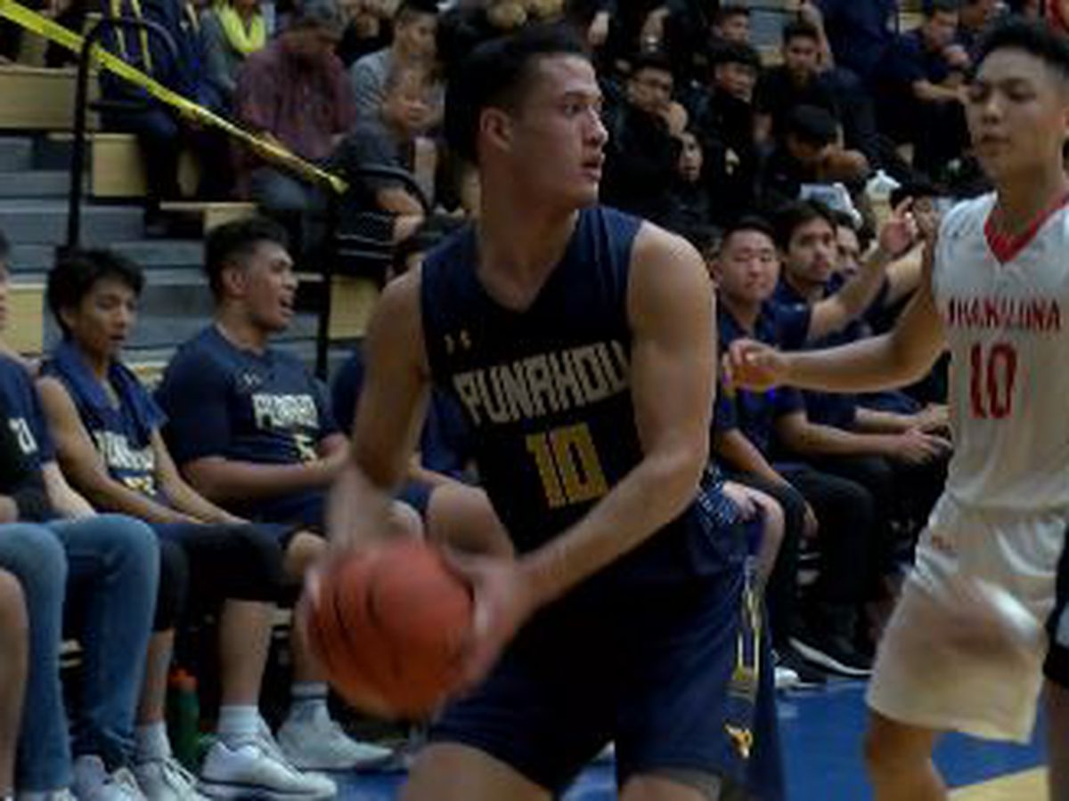 Punahou advances over Lunas in Quarterfinal