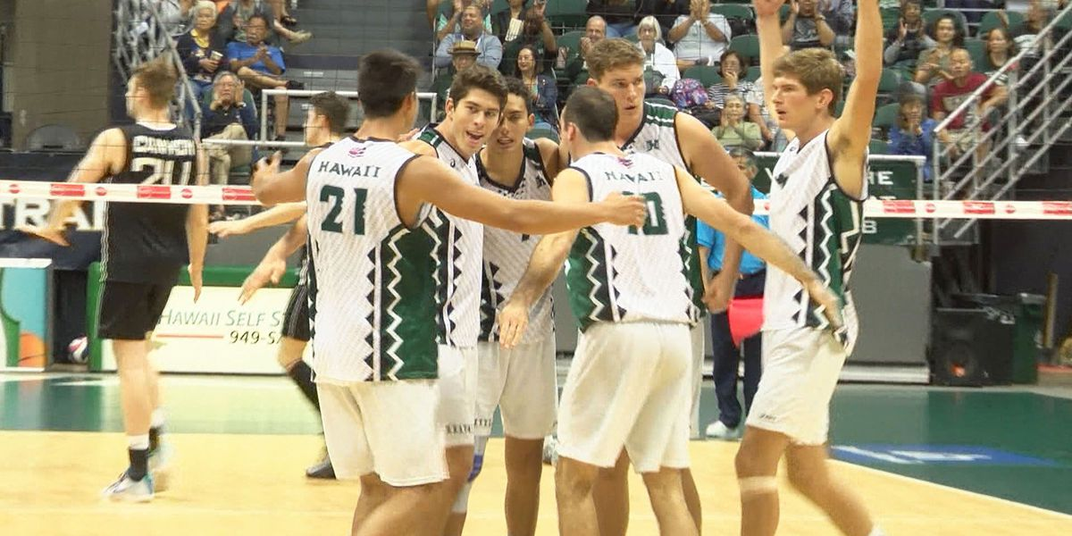 UH Men's Volleyball makes it seven straight at CBU