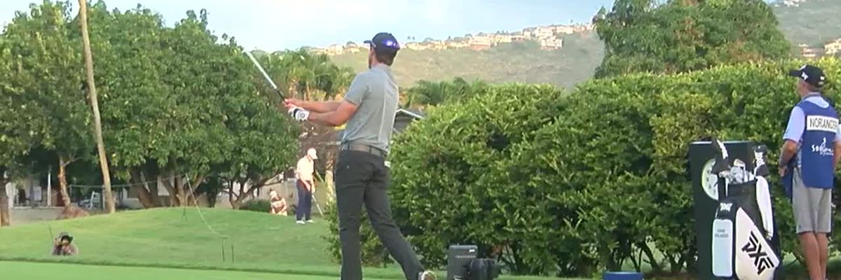 First day of 2021 Sony Open wrapped up at Waialae Country Club