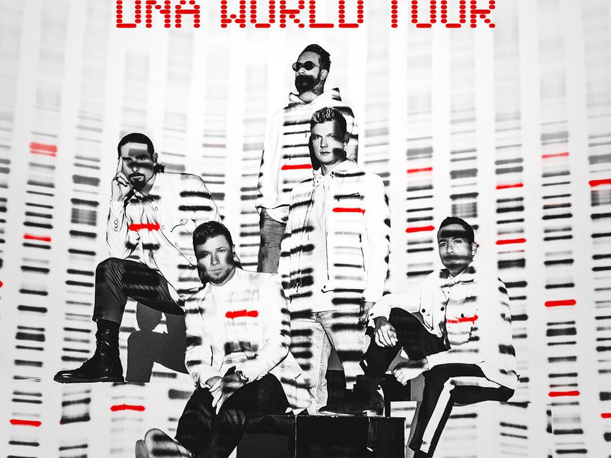 The Backstreet Boys are bringing their DNA World Tour to Hawaii!