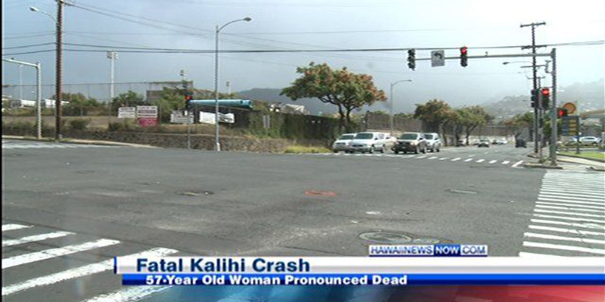 Pedestrian killed Saturday in Kalihi identified