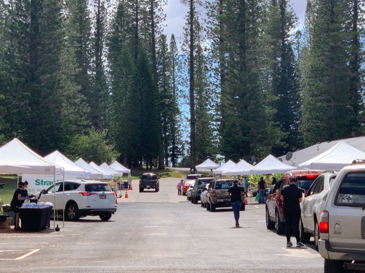 Testing in full force on Lanai ahead of stay-at-home order; 65 COVID-19 cases known